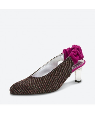 ESCARPIN RAVI pour femme - Azurée - Made in France