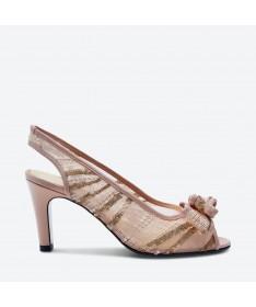 SANDALE KAVARI pour femme - Azurée - Made in France