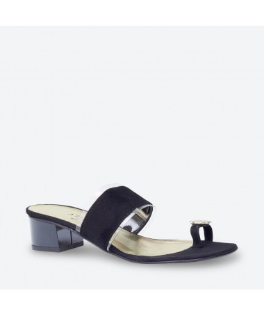 MULE MACABO pour femme - Azurée - Made in France