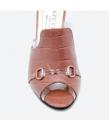 MULE MAHOU pour femme - Azurée - Made in France