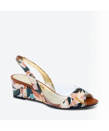SANDALE MAJON pour femme - Azurée - Made in France