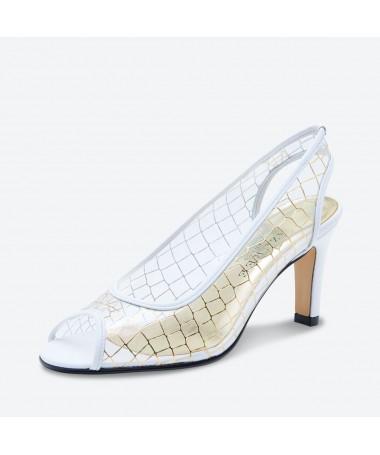 SANDALE MAJOSA pour femme - Azurée - Made in France