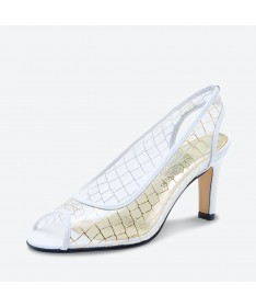 MAJOSA - Azurée - Women's shoes made in France