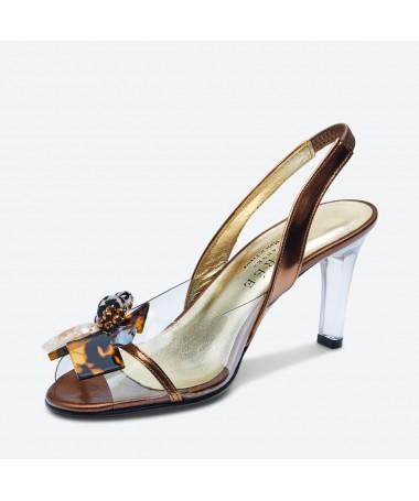 SANDALE MALABA pour femme - Azurée - Made in France