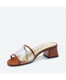 MALMO - Azurée - Women's shoes made in France