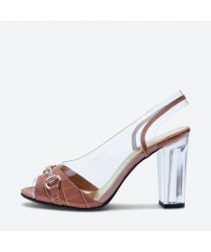 SANDALE MALVA pour femme - Azurée - Made in France