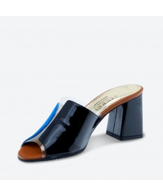 MANDRI - Azurée - Women's shoes made in France