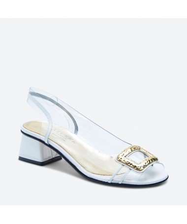 MANILO - Azurée - Women's shoes made in France