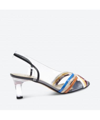 SANDALE MALTI pour femme - Azurée - Made in France