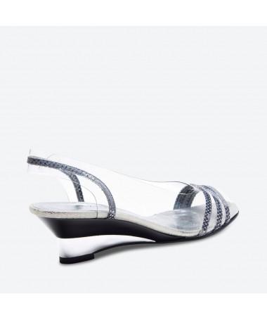 SANDALE MADIRA pour femme - Azurée - Made in France