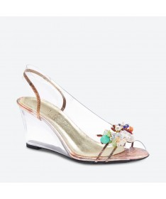NAGIA - Azurée - Women's shoes made in France