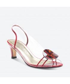 SANDALE MACAO pour femme - Azurée - Made in France