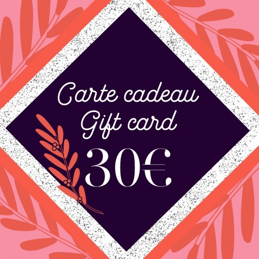 Gift card 30 - Azurée - Women's shoes made in France