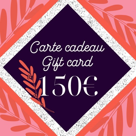 Gift card 150 - Azurée - Women's shoes made in France
