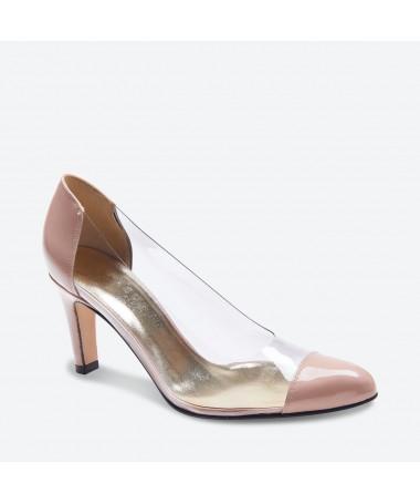 ESCARPIN LADINO pour femme - Azurée - Made in France