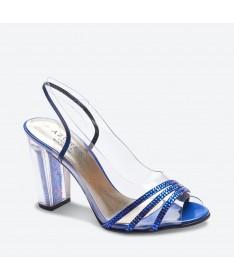 SANDALE MAPOLI pour femme - Azurée - Made in France