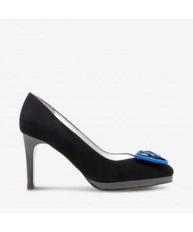 ESCARPIN RADAMA pour femme - Azurée - Made in France