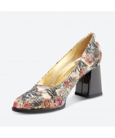 ROISA - Azurée - Women's shoes made in France
