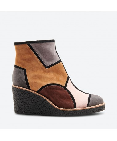 TANJI - Azurée - Women's shoes made in France