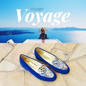 Les chaussures Azurée vous invitent au voyage